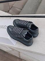 "Кросівки Alexander McQueen Grey Patent ""Сірі"", фото 2"