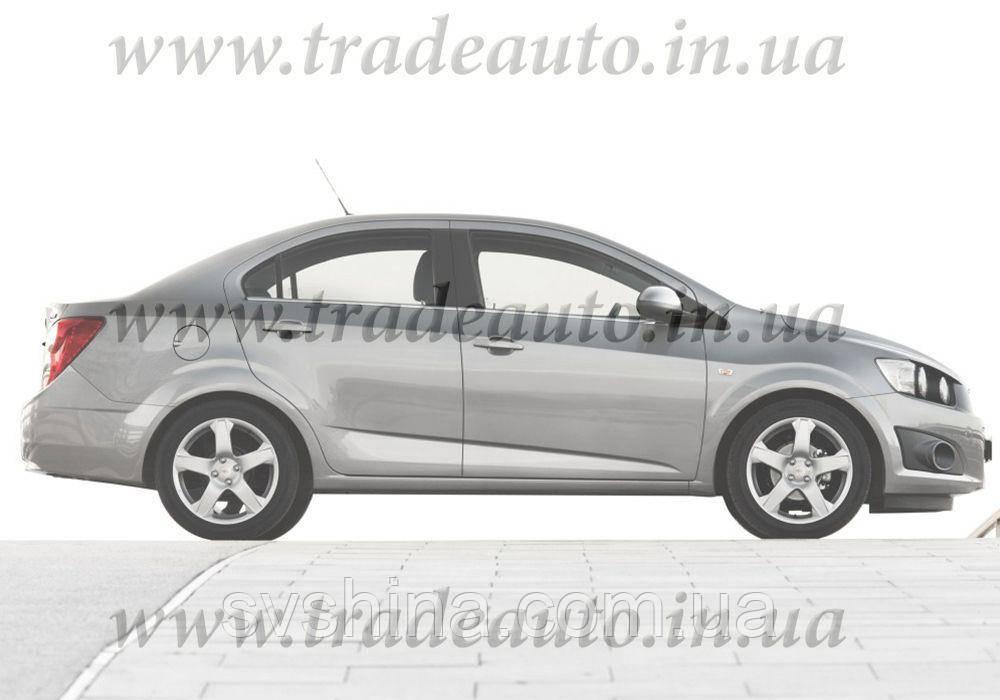 Дефлекторы окон Heko на Chevrolet  Aveo 2011 -> Sedan