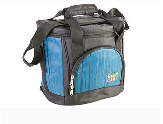 Термосумка, рюкзак-холодильник Green Camp для їжі, чорно-синя, обсяг 18 л