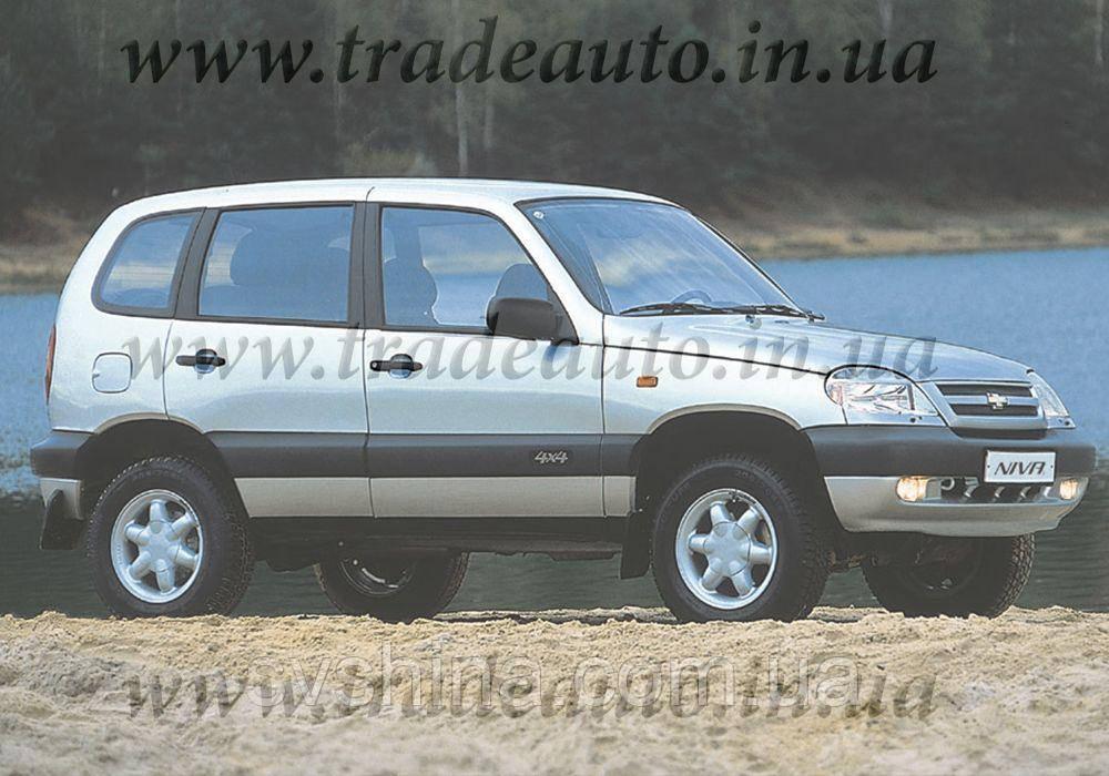 Дефлекторы окон Heko на Chevrolet  Niva 2006 ->