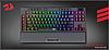 Клавиатура проводная Redragon Broadsword Pro RGB USB Black (77515), фото 4