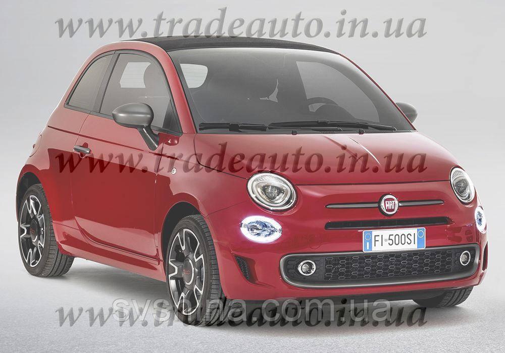 Дефлекторы окон Heko на Fiat  500 2007-> 3D