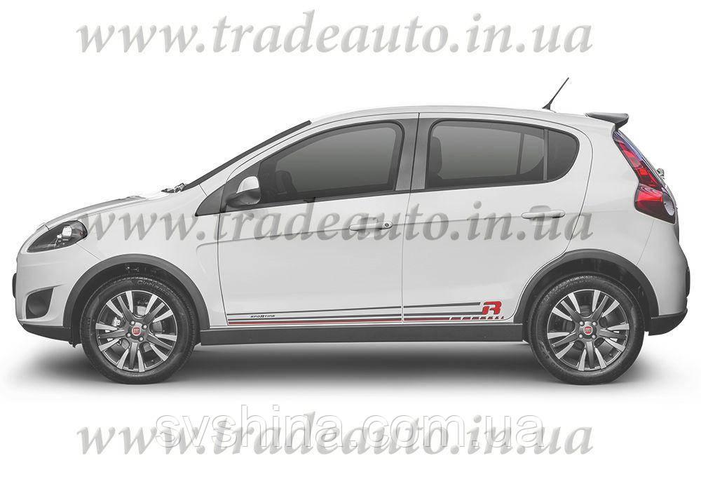 Дефлекторы окон Heko на Fiat  Palio/Albea 2002-> 4D