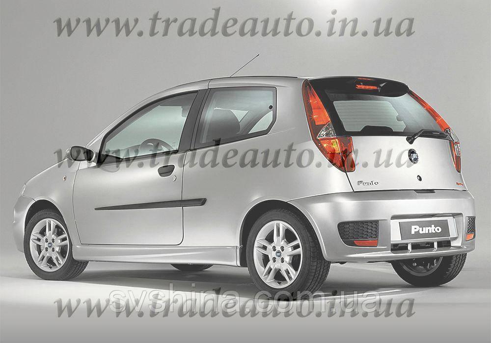 Дефлекторы окон Heko на Fiat  Punto II,III 1999-> 3D
