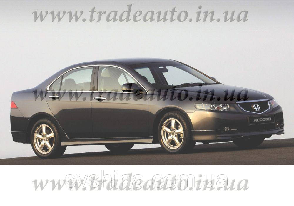 Дефлекторы окон Heko на Honda  Accord 2002-2008 Sedan