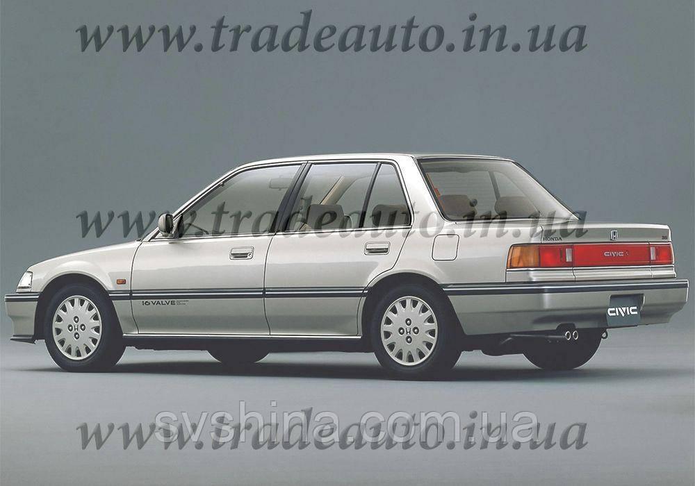 Дефлекторы окон Heko на Honda  Civic 1987-1991 Sedan