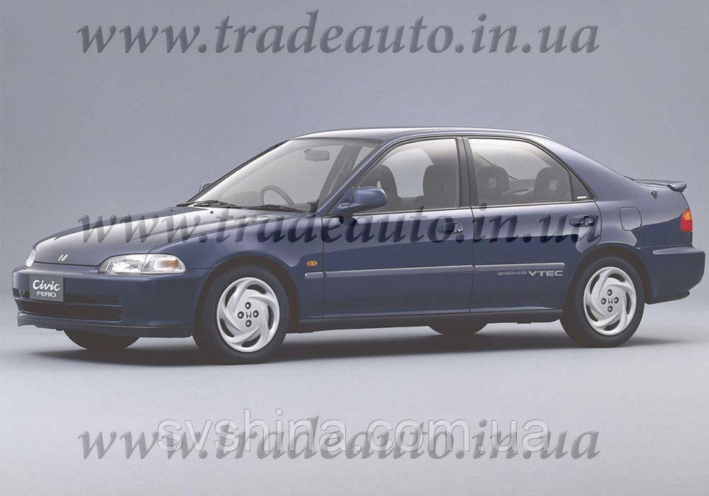 Дефлекторы окон Heko на Honda  Civic 1991-1995 Sedan
