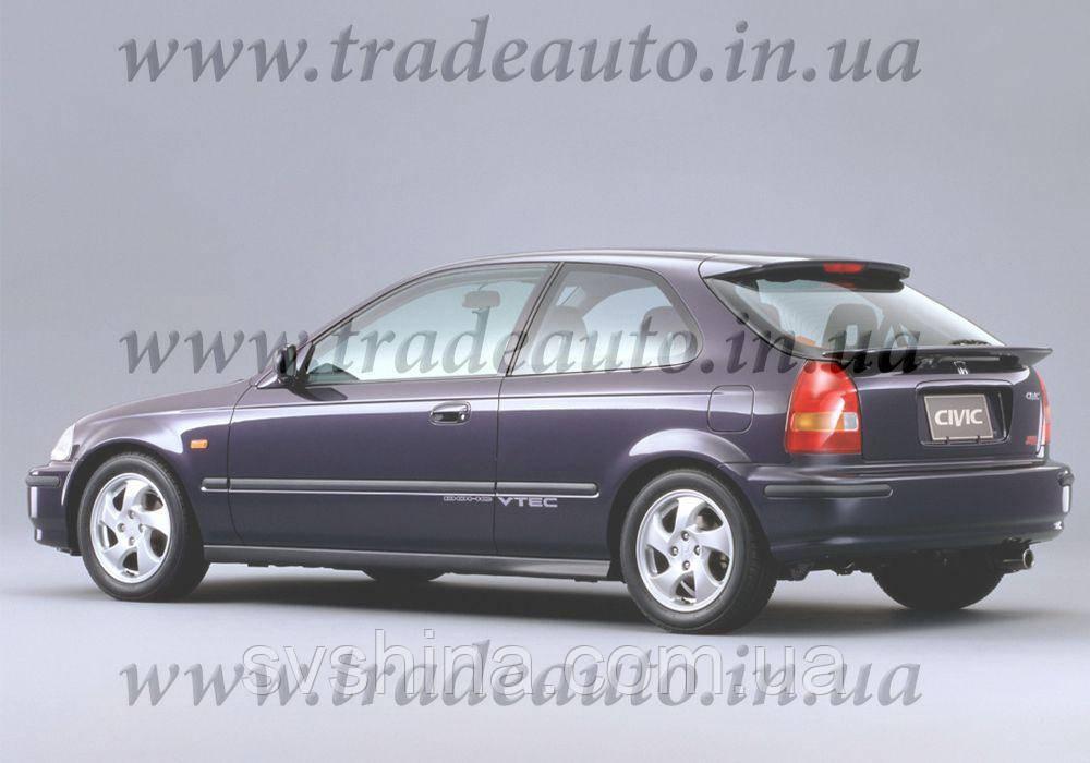 Дефлекторы окон Heko на Honda  Civic 1995-2000 3D