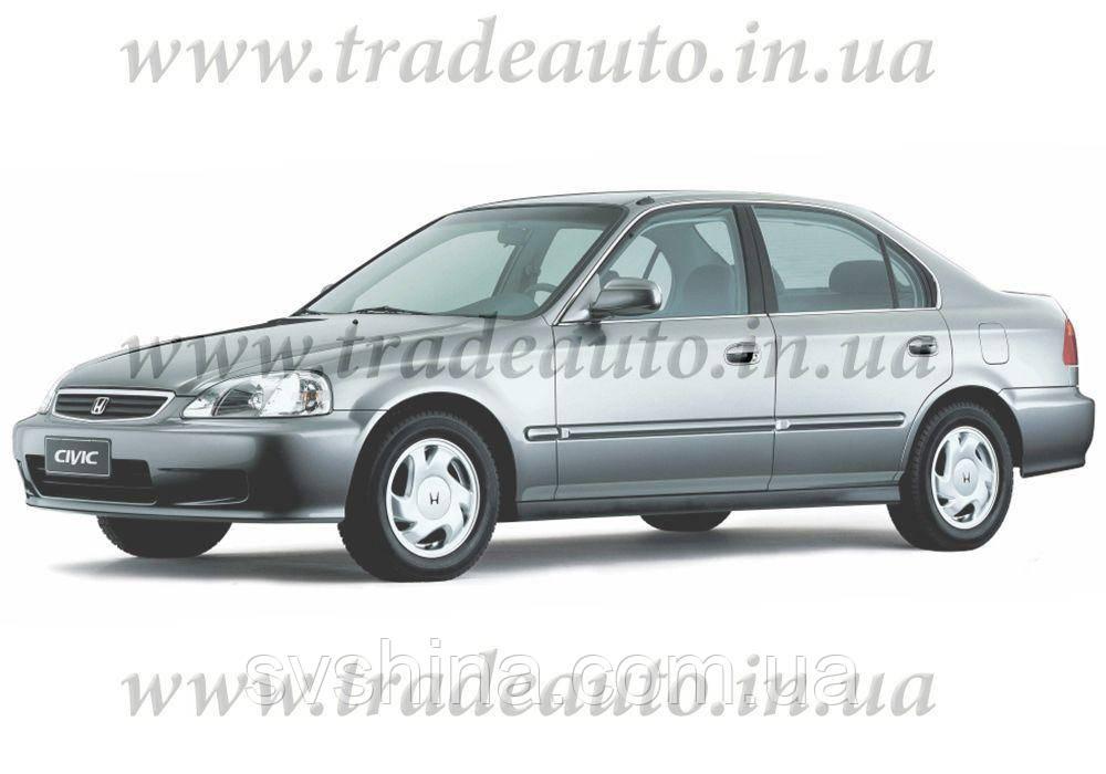 Дефлекторы окон Heko на Honda  Civic 1995-2000 Sedan