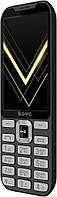 Кнопочный телефон с камерой и хорошей большой батареей на 2 симки Sigma X-Style 35 Screen Gray