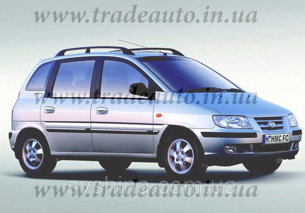 Дефлекторы окон Heko на Hyundai  Matrix 2001-2010