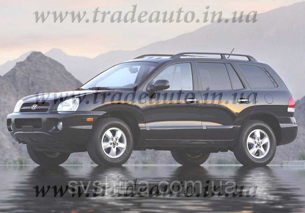 Дефлекторы окон Heko на Hyundai  Santa Fe 2000-2006
