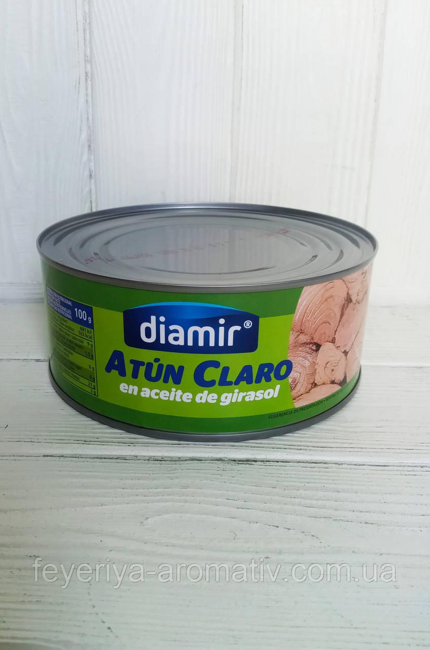 Тунец в подсолнечном масле Diamir Atun Claro En Aceite De Girasol 900г/650г (Испания)