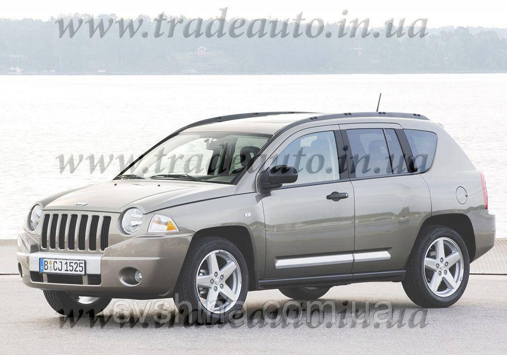 Дефлекторы окон Heko на Jeep  Compass 2007->