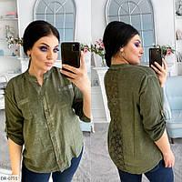 Жіноча сорочка з котону-варьонки, фото 1