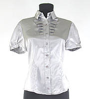 Блуза жабо рр.40-48