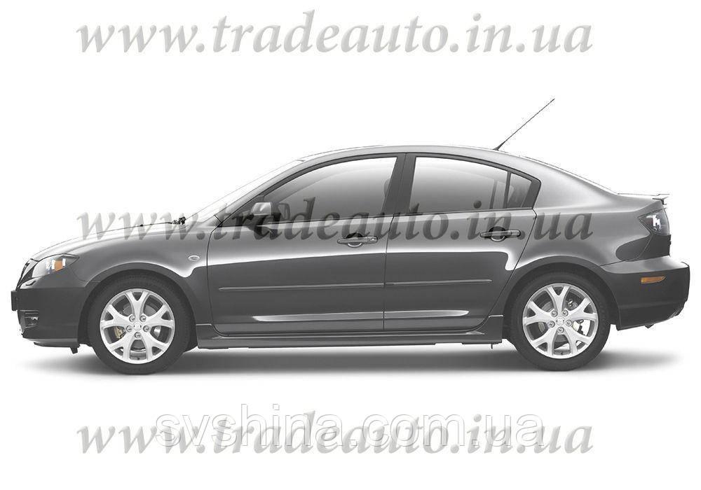 Дефлекторы окон Heko на Mazda  3 2003-2009