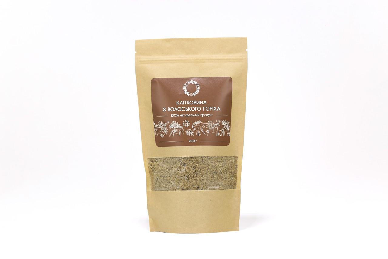 Клетчатка грецкого ореха 0,25 кг сертифицированная без ГМО