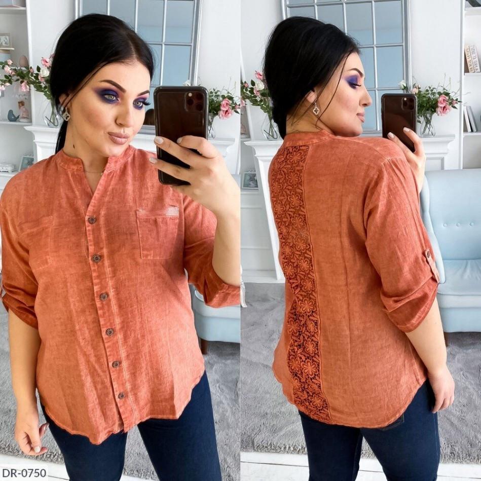 Жіноча сорочка з котону-варьонки