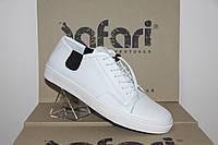 Мужские кеды Safari белые 36505 кожаные, фото 1