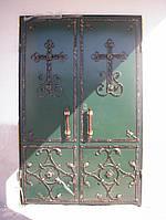 Бронедвери кованые на заказ (бронированные двери кованые, кованные, с металла)