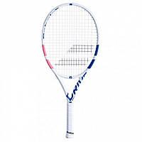 Ракетка для большого тенниса Babolat Pure Drive Junior 25 W white/pink/blue