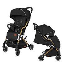 Прогулочная детская коляска-книжка CARRELLO Smart CRL-5504 Night Black с подстаканником