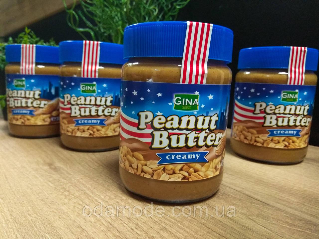 Арахісова Паста кремова Peanut Butter creamy Gina 350 г