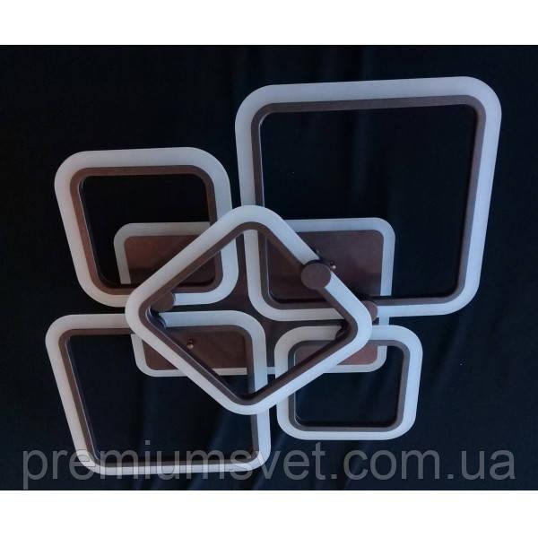 Люстра припотолочная MX2503/2+2+1 CF LED 3 color dimmer