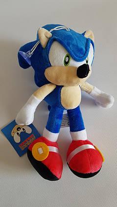 Соник мягкая игрушка Ежик Sonic 28 см из фильма Соник в Кино 28 см