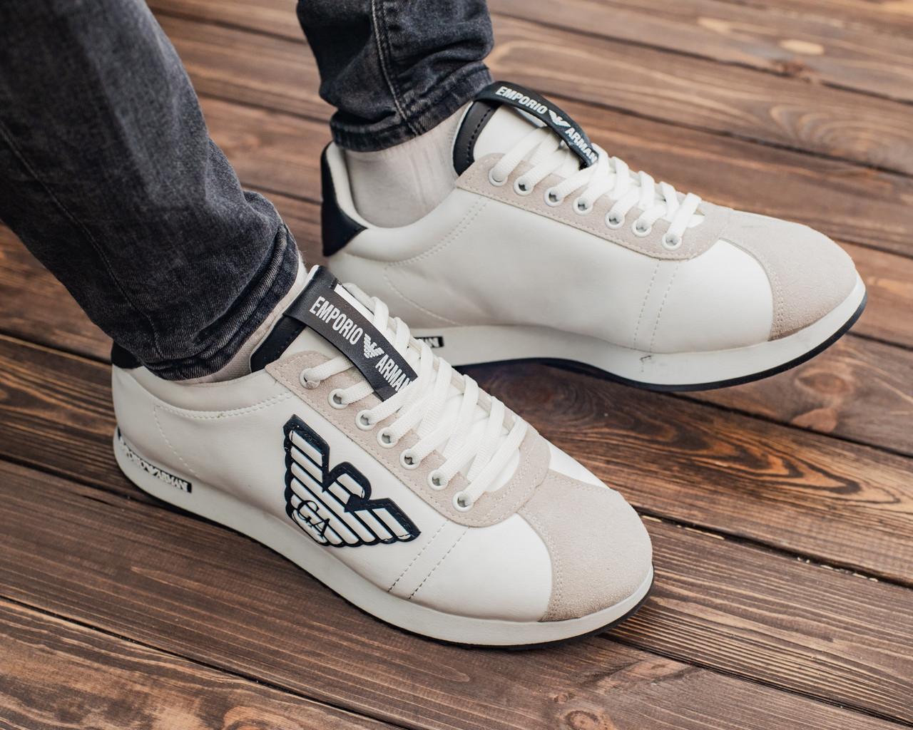 Мужские кроссовки Emporio Armani, мужские кроссовки эмпорио армани, чоловічі кросівки Emporio Armani