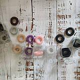 Резинка-браслет для волосся Invisibobble. Продаж від 1 штуки. Оригінал! Матова рожева, фото 7
