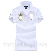 В стиле Ральф женское поло хлопок женская футболка жіноча оригинал
