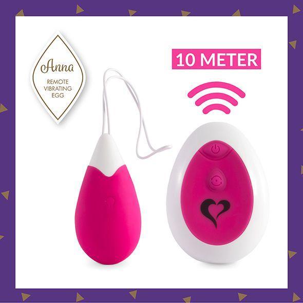 Виброяйцо ANNA (Remote Vibrating Egg) Pink