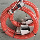 Гибкий шнековый транспортер (спиральный конвейер), фото 4