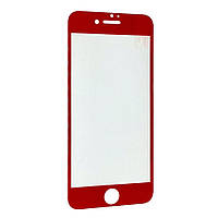 Защитное стекло DK Full Cover для Apple iPhone 7 Plus / 8 Plus (red)