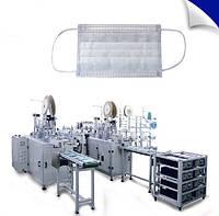 Автоматизированная линия для производства медицинских масок.