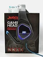 Игровые наушники для компьютера Jedel GH205 с подсветкой и микрофоном