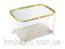 """Детский классический игровой манеж с мелкой сеткой KinderBox """"Ферма""""  - игровой центр для детей, фото 2"""
