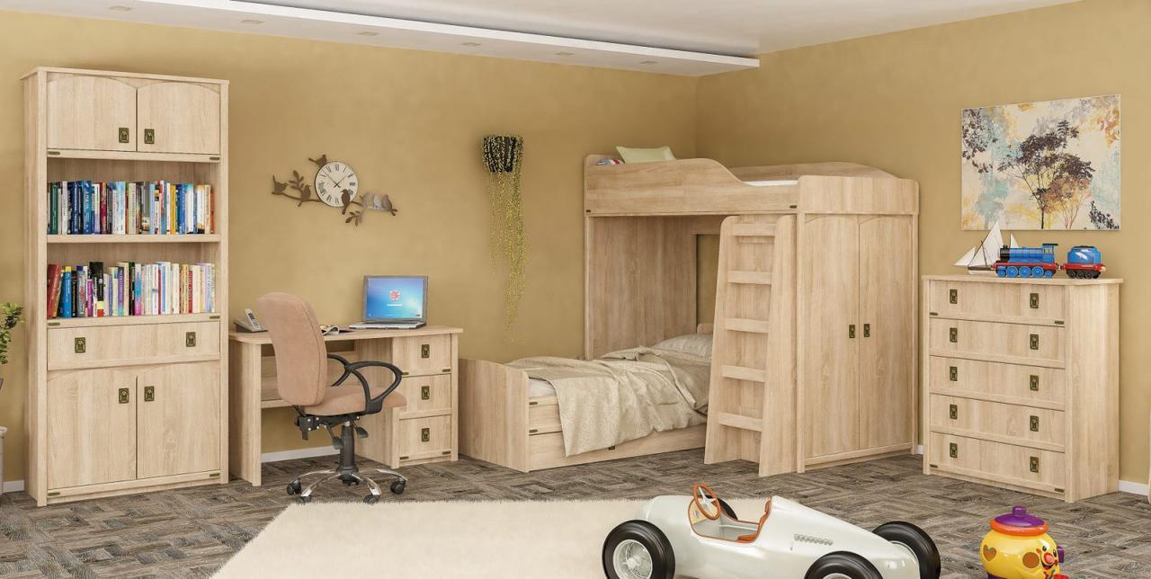 Детская Валенсия 2 Мебель Сервис