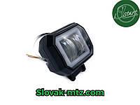 Дополнительная светодиодная LED фара 20Вт квадратная с ДХО