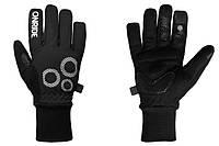 Велоперчатки зимние - Onride Icy 20 черные M (обхват ладони 20 см.)