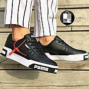 Женские кроссовки в стиле Puma Cali Black/White Черно-белые