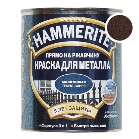 Hammerite з Молотковим ефектом, Темно-коричнева 0.7 л