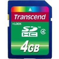 Карта памяти Transcend SDHC 4Gb class 4
