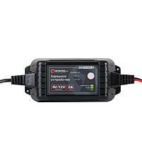 Зарядний пристрій 6/12В, 2А, 230В, максимальна ємність акумулятора, що заряджається 1.2-60 а/год INTERTOOL