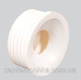 Сантехнічна редукція 50х25(манжет) белая