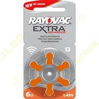 Батарейка VARTA RAYOVAC 13 PR48 blist 6