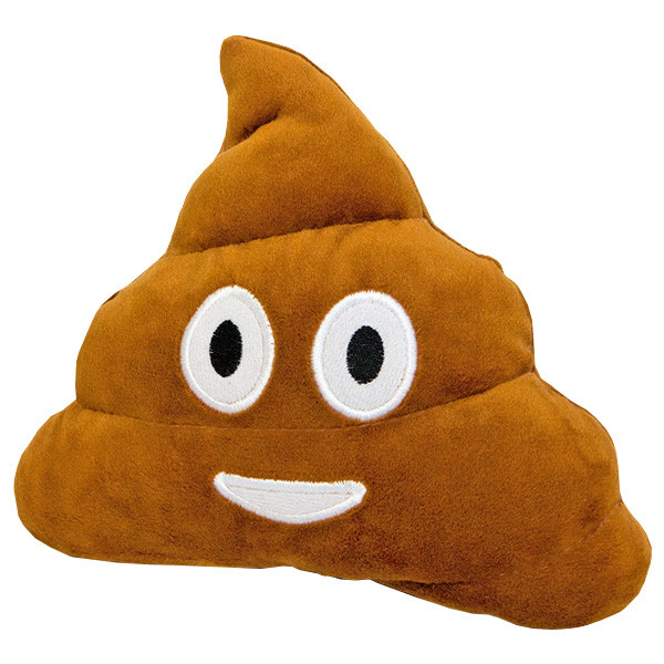 Мягкая игрушка ТМ Золушка Смайлик emoji Мистер какашка - (16см)