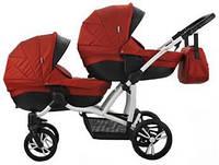 Коляска 2в1 Bebetto B 42 Premium New 05, Красный